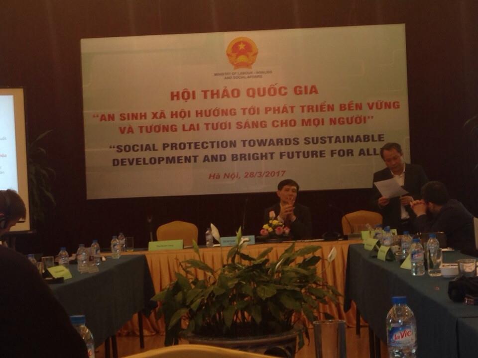 """Hội thảo quốc gia """"An sinh xã hội hướng tới phát triển bền vững và tương lai tươi sáng"""""""