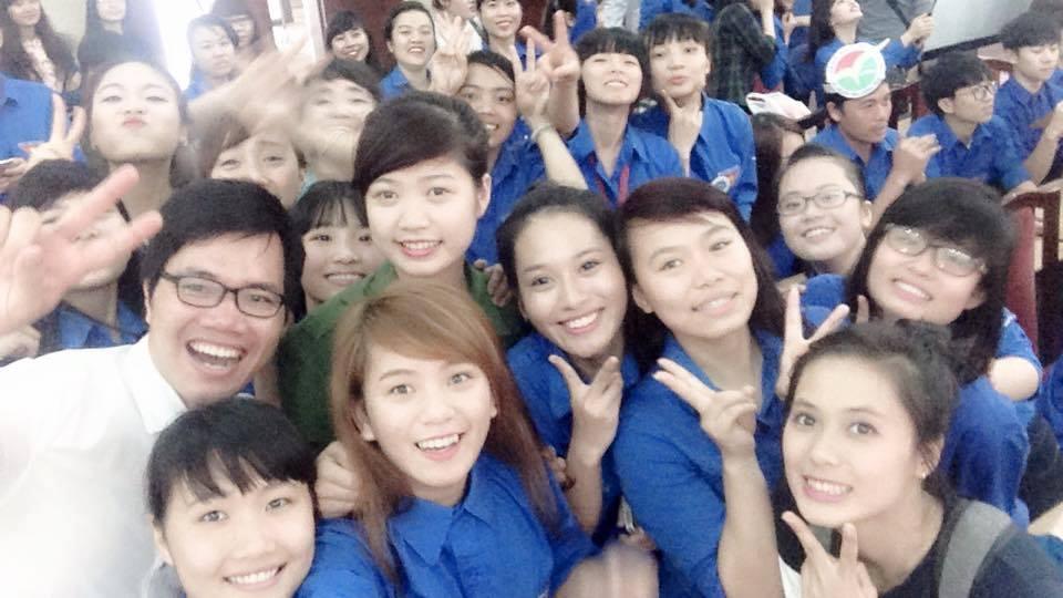 Sinh viên Khoa Công tác xã hội Học viện Phụ nữ Việt Nam