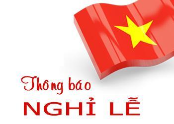 Thông báo Lịch nghỉ lễ 30/4 và Quốc tế lao động 1/5 năm 2016 đối với sinh viên Học viện Phụ nữ Việt Nam