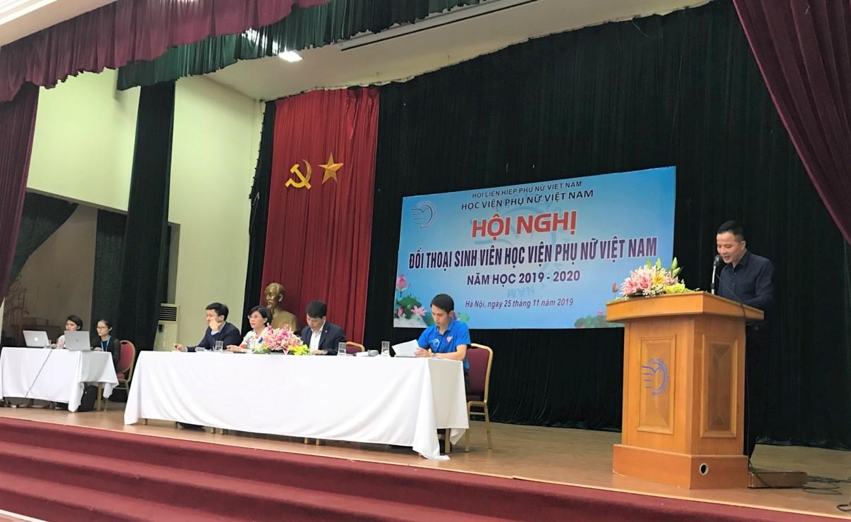 Hội nghị đối thoai với sinh viên năm học 2019 – 2020