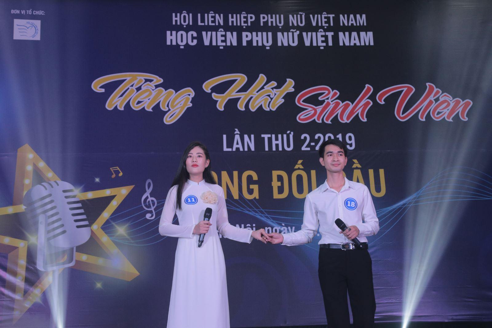 Bán kết cuộc thi Tiếng hát sinh viên Học viện Phụ nữ Việt Nam lần II