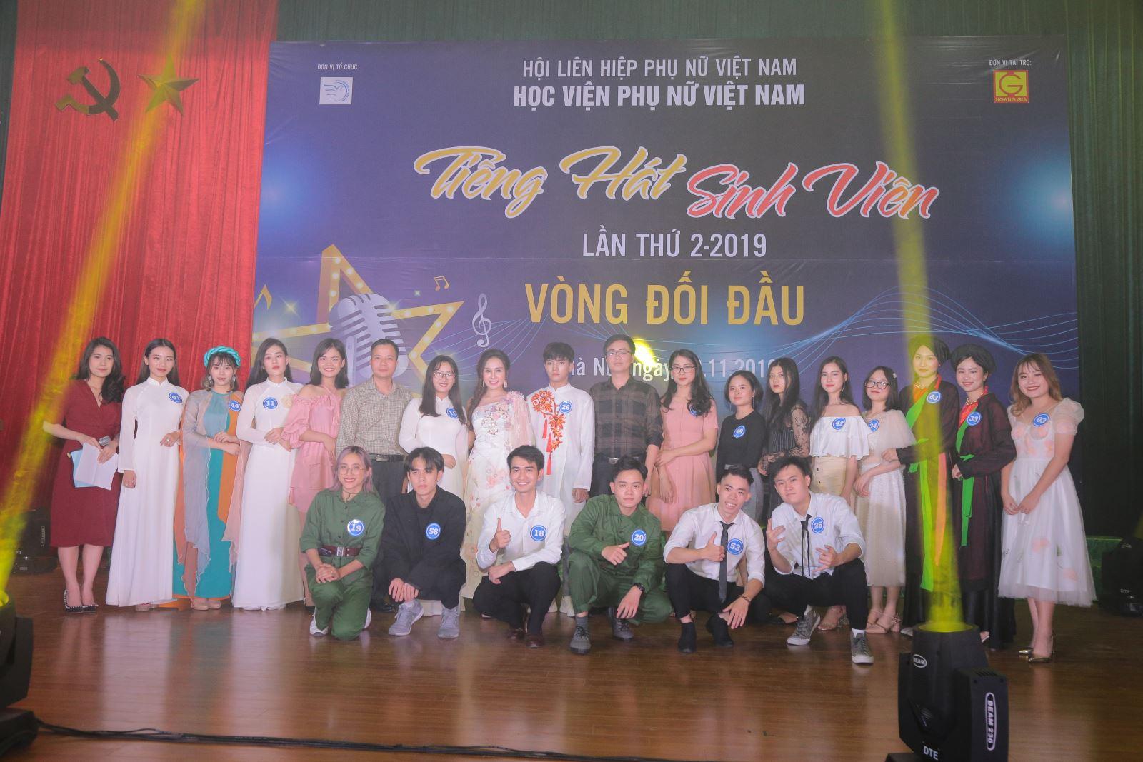 Phóng sự ảnh: Bán kết cuộc thi Tiếng hát sinh viên lần II