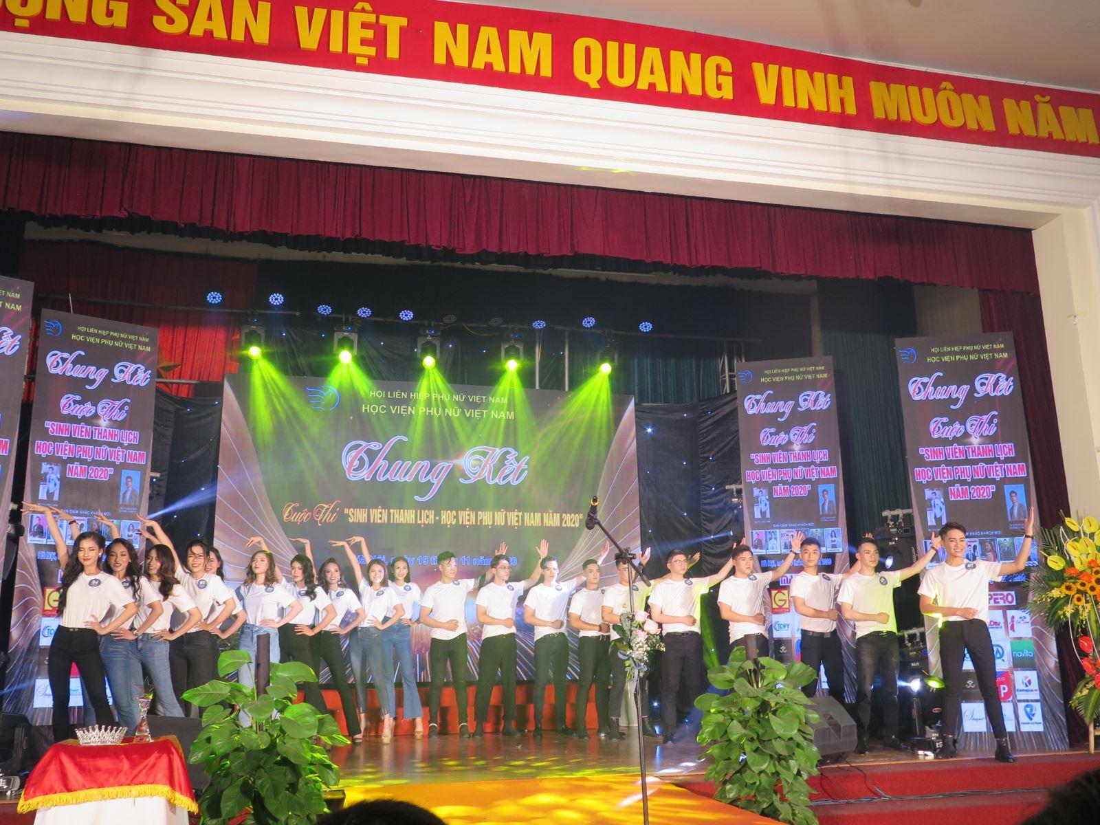 P/s ảnh: Đêm hội tài năng, nhan sắc của sinh viên Học viện Phụ nữ Việt Nam