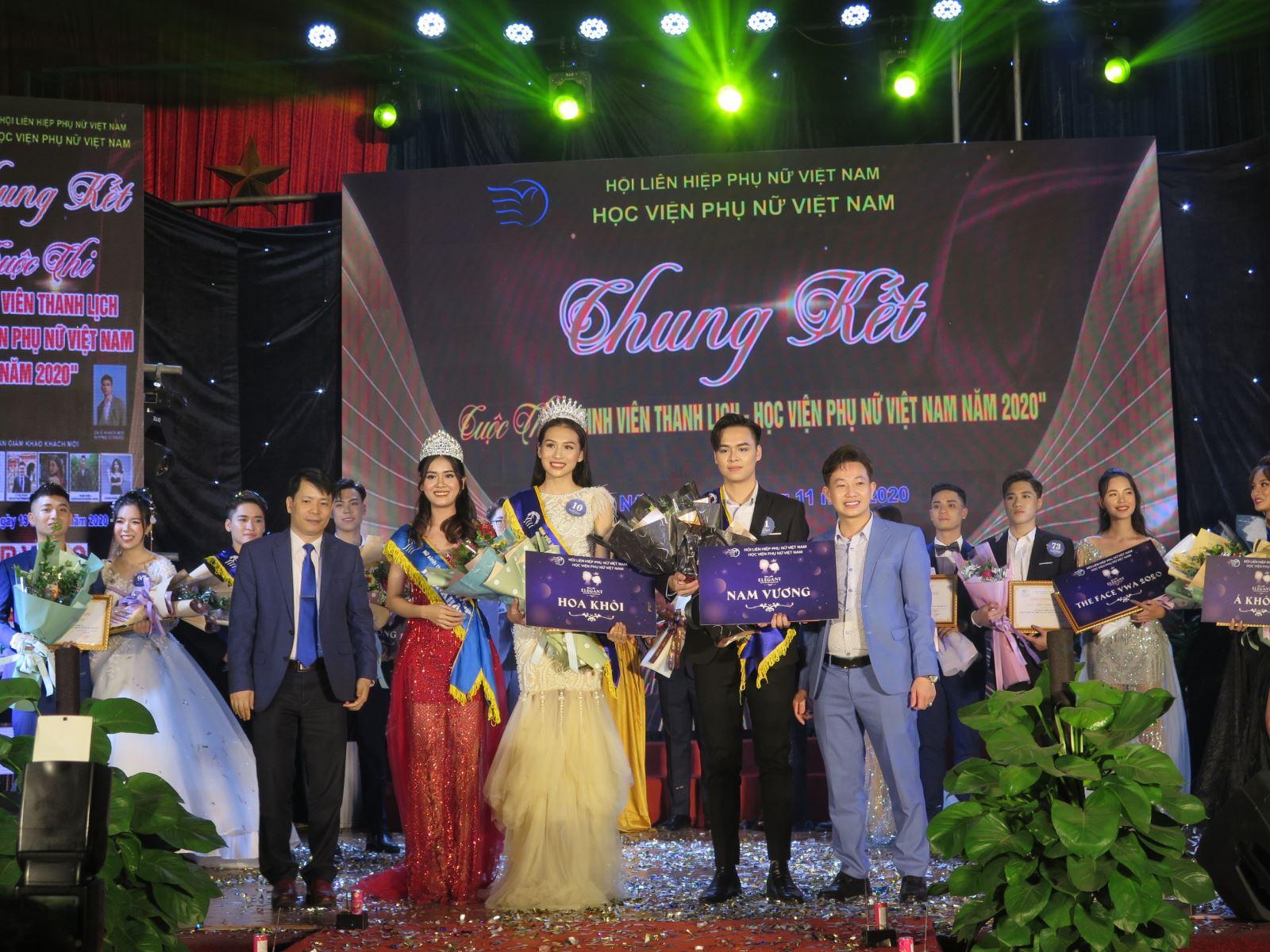 Quyết định khen thưởng Sinh viên đạt giải cuộc thi Sinh viên thanh lịch năm 2020