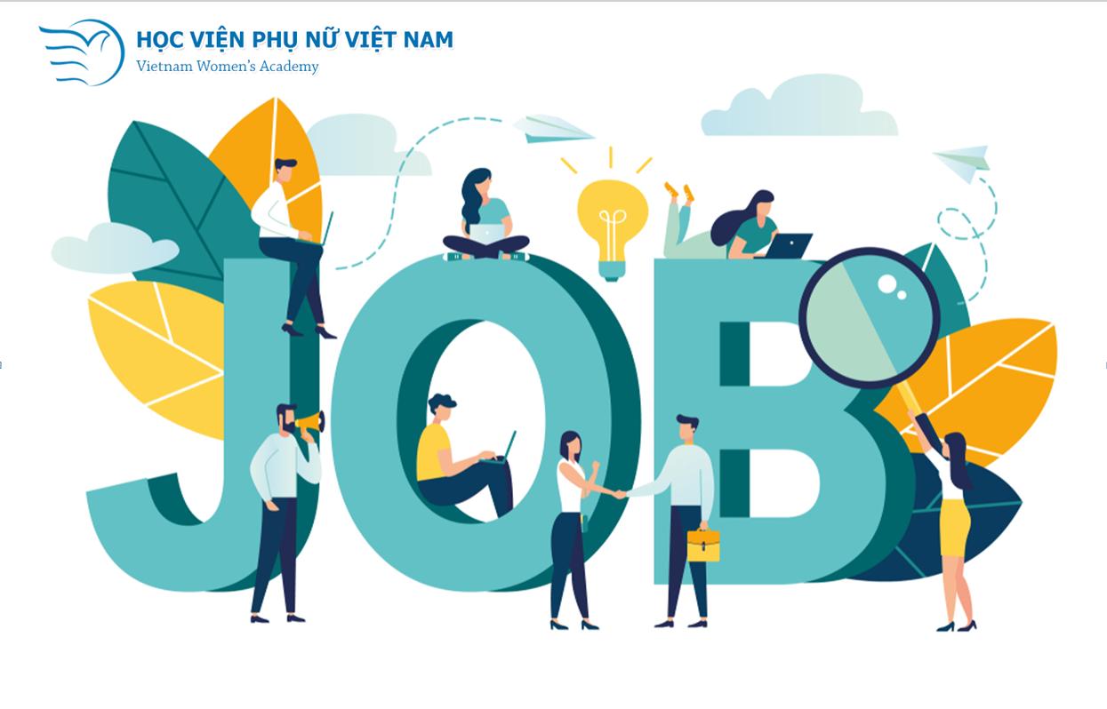 Học viện Phụ nữ Việt Nam kết nối cơ hội việc làm cho sinh viên