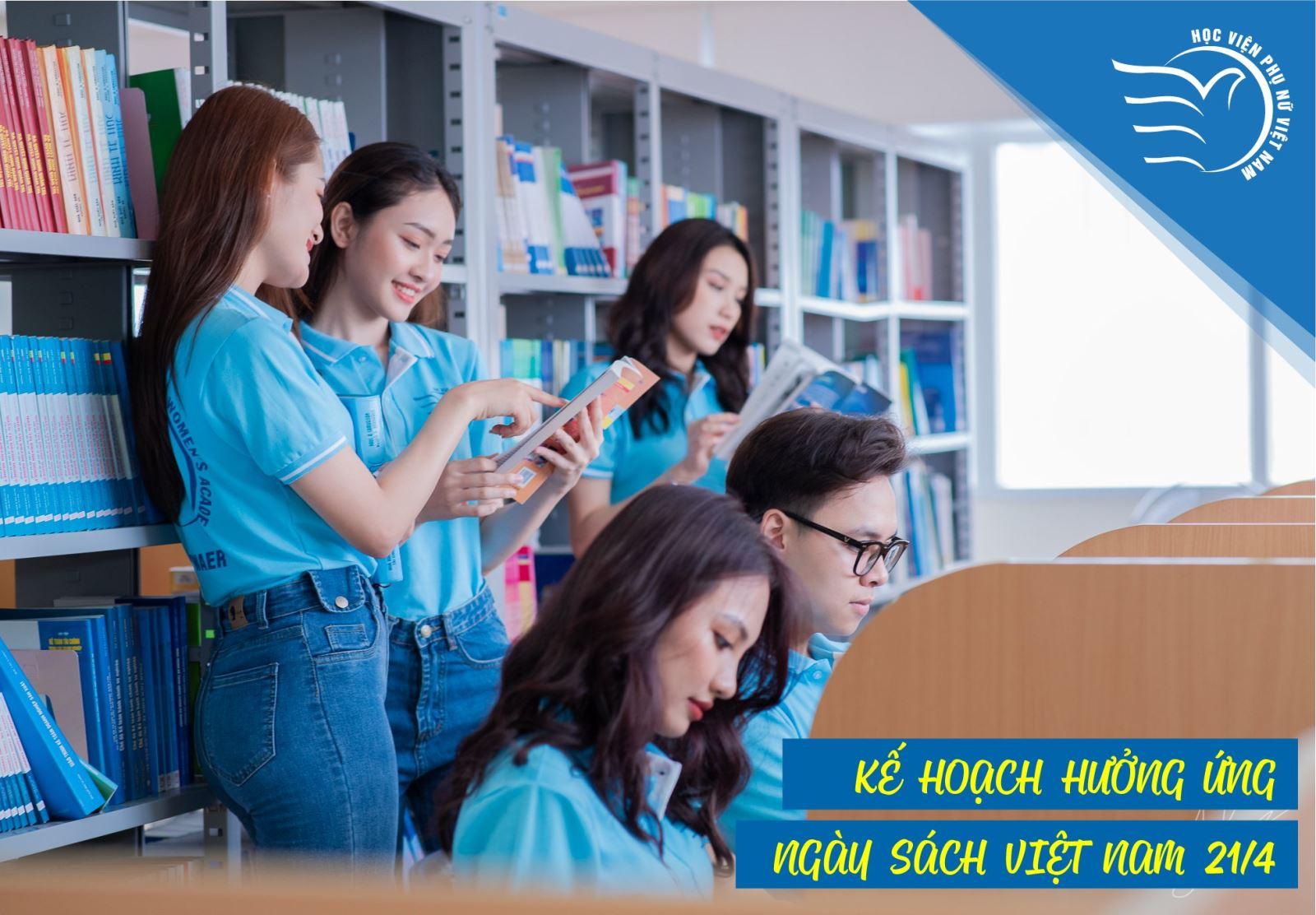 Thông báo Kế hoạch hưởng ứng ngày sách Việt Nam năm 2021