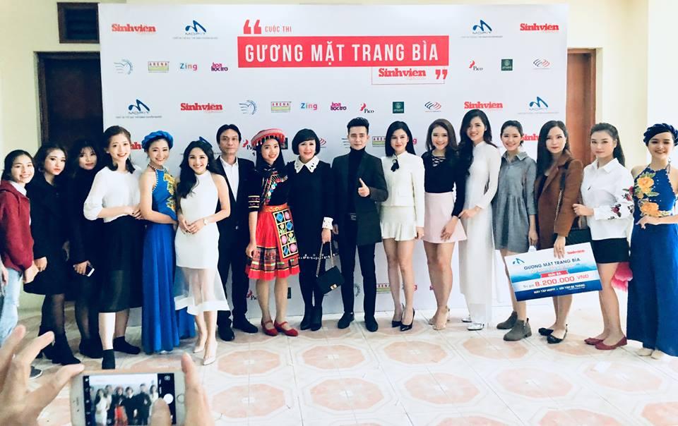 Vòng thi tài năng, Cuộc thi Gương mặt trang bìa, Báo sinh viên Việt Nam