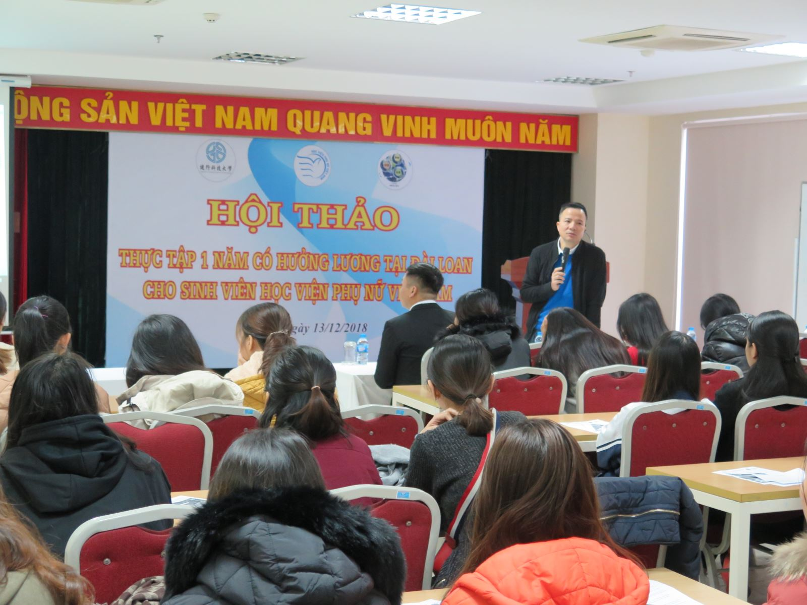 Cơ hội thực tập hưởng lương 1 năm tại Đài Loan dành cho sinh viên Học viện