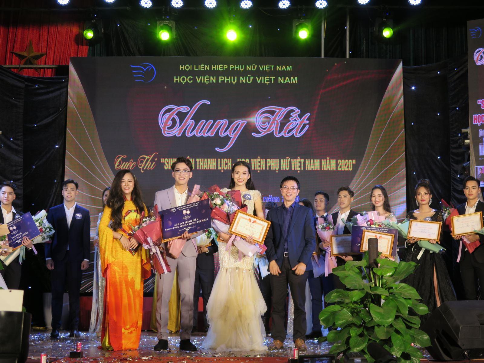 Tỏa sáng nét đẹp truyền thống tại Chung kết sinh viên thanh lịch 2020