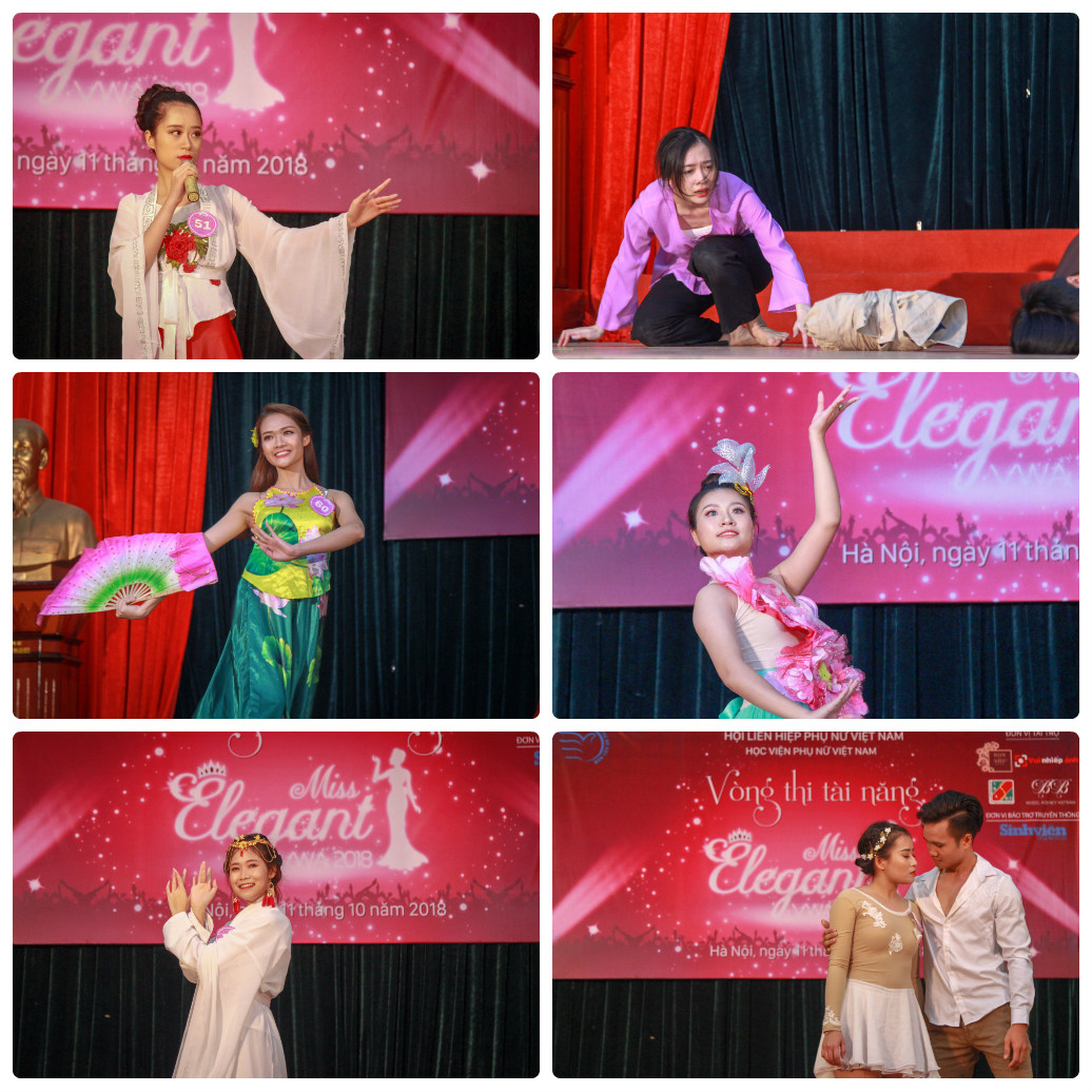 16 thí sinh lọt vào vòng chung kết cuộc thi Nữ sinh thanh lịch 2018