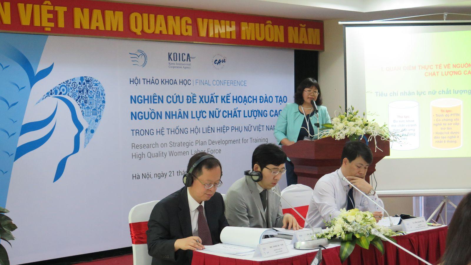 VOV: Đề xuất xây dựng nguồn nhân lực nữ chất lượng cao