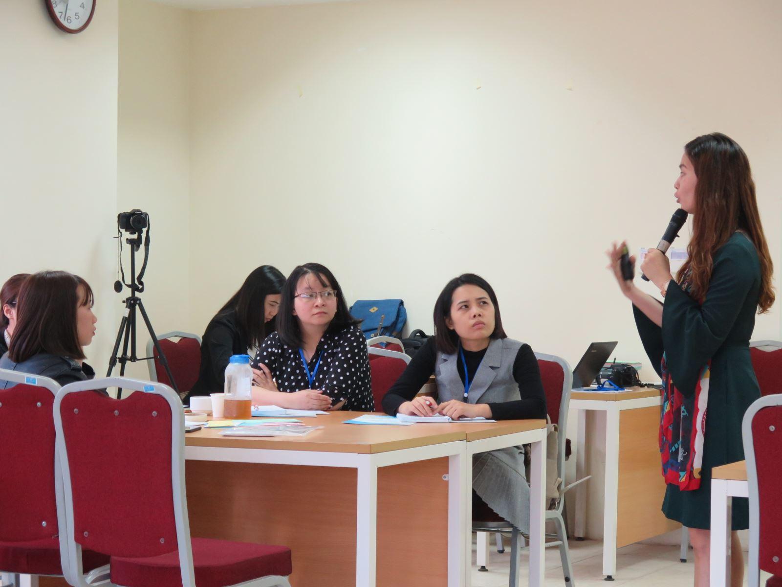 Học viện Phụ nữ Việt Nam tổ chức khóa tập huấn kỹ năng quản lý thời gian