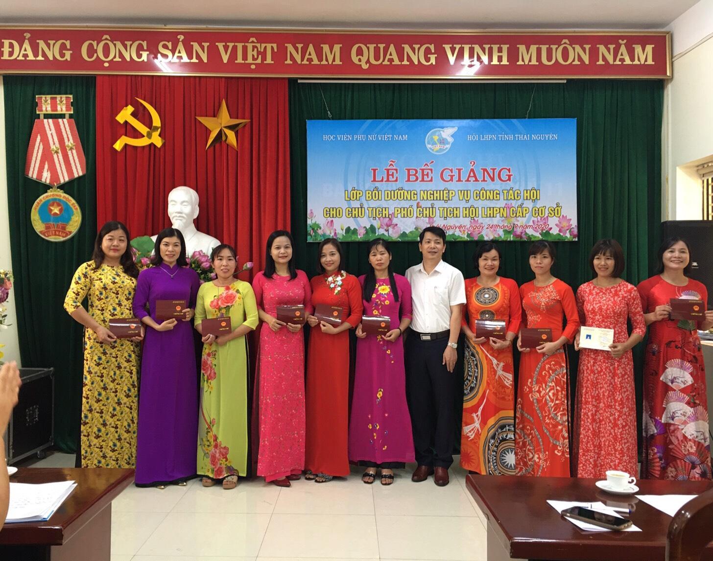 Tin tổng hợp tháng 9: Công tác bồi dưỡng cán bộ nữ tại địa phương