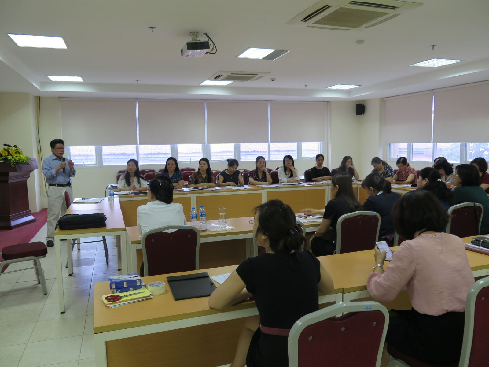 Hoạt động bồi dưỡng, Học viện Phụ nữ Việt Nam năm 2019