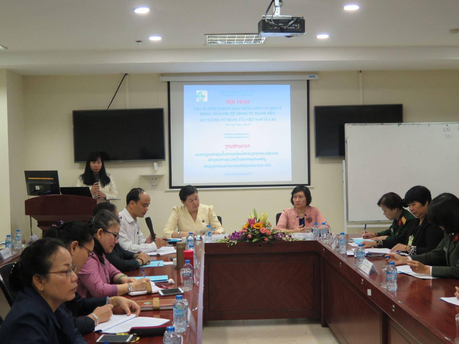 Hội thảo Chia sẻ kinh nghiệm hoạt động công tác Hội và Phong trào phụ nữ