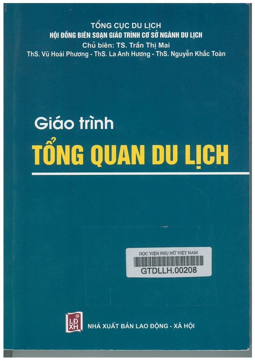 Giới thiệu sách: Giáo trình Tổng quan du lịch