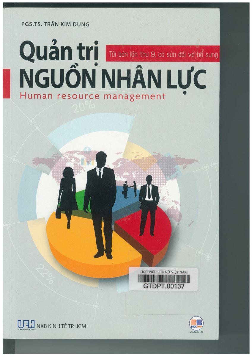 Giới thiệu sách: Quản trị nguồn nhân lực