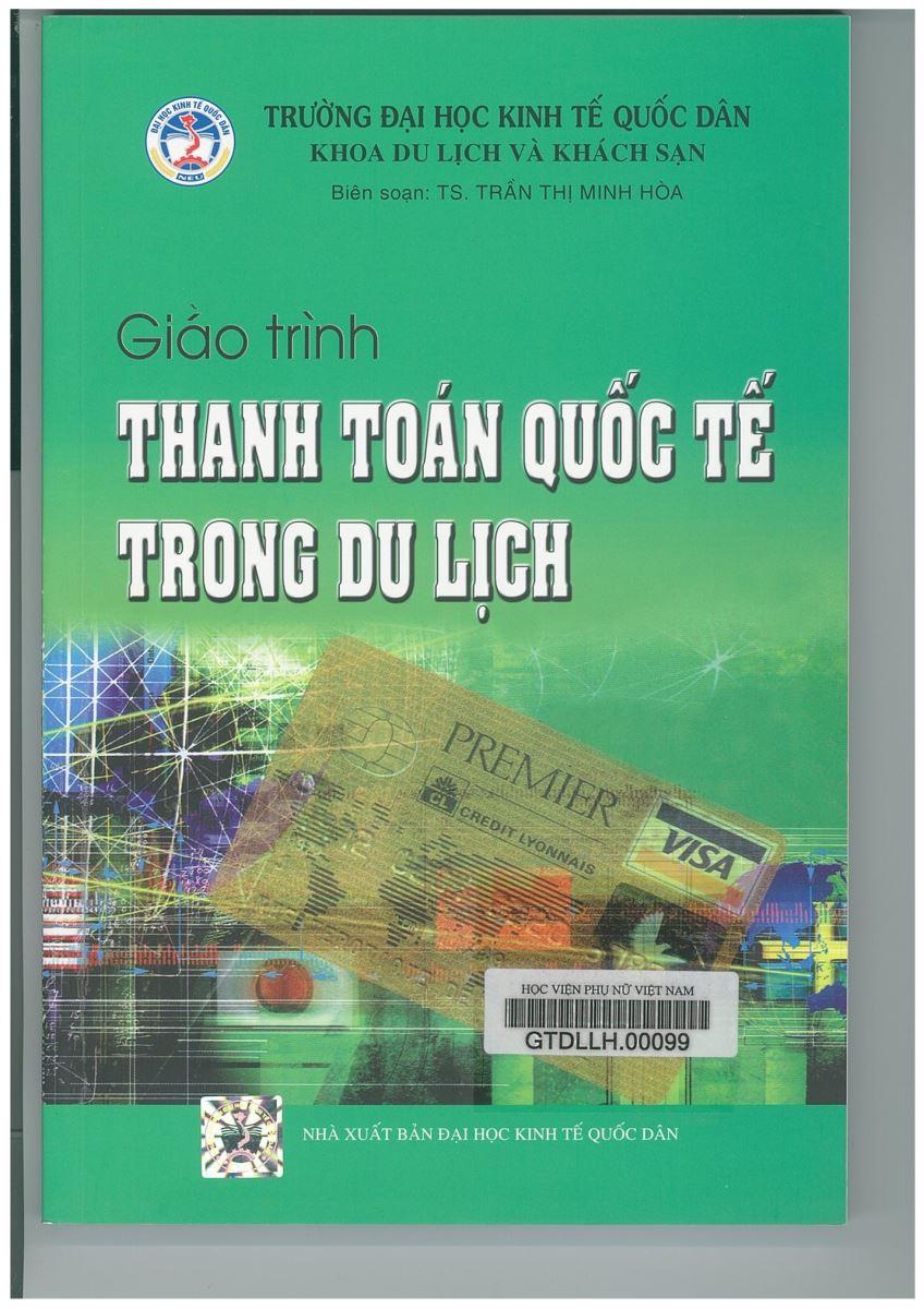 Giới thiệu sách: Giáo trình Thanh toán quốc tế trong du lịch