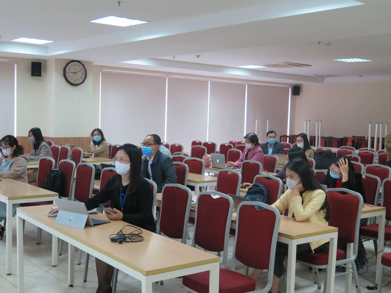 Tập huấn giảng dạy trên hệ thống quản lý học trực tuyến LMS