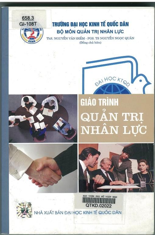 Giới thiệu sách: Giáo trình Quản trị nhân lực