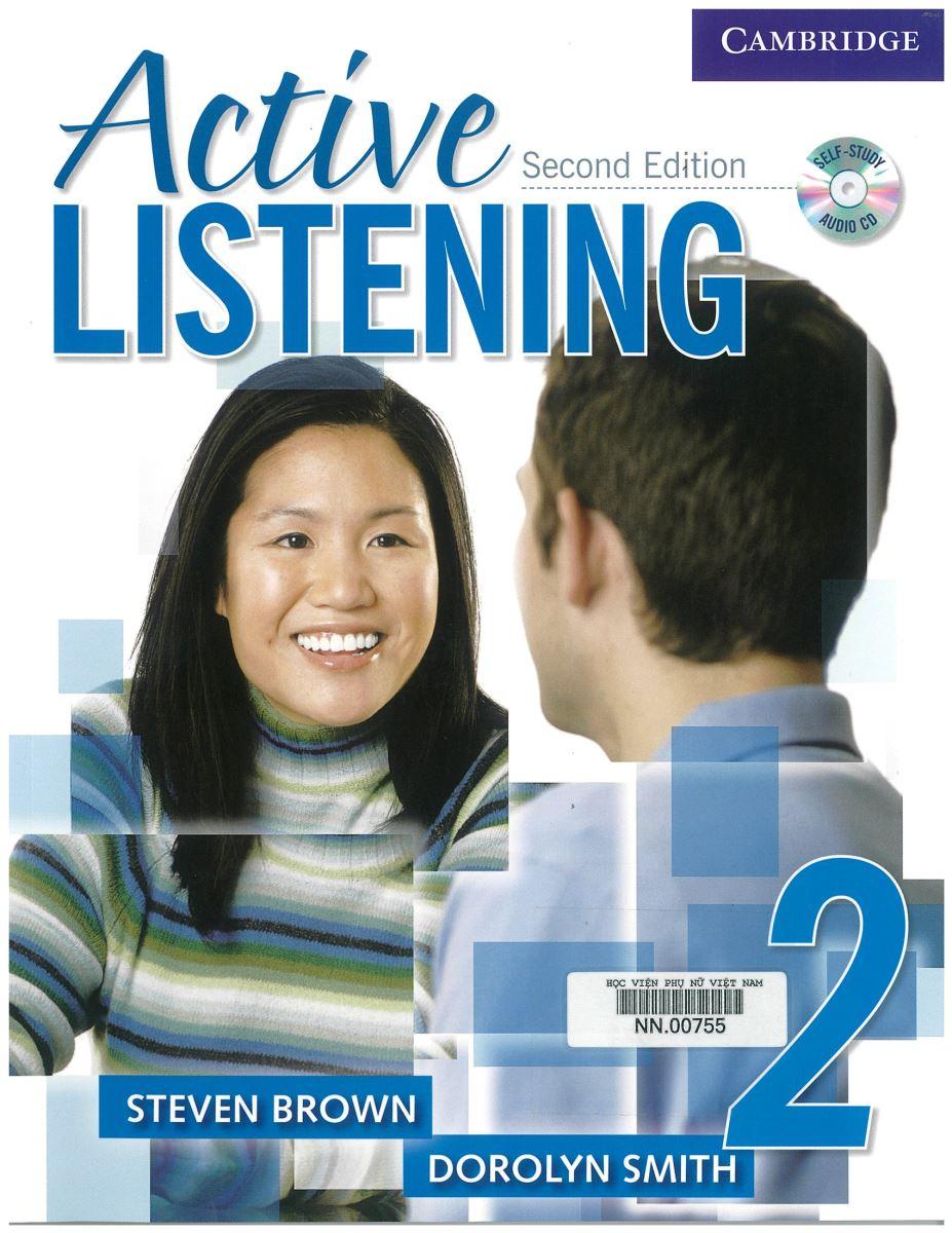Giới thiệu sách:Active Listening 2