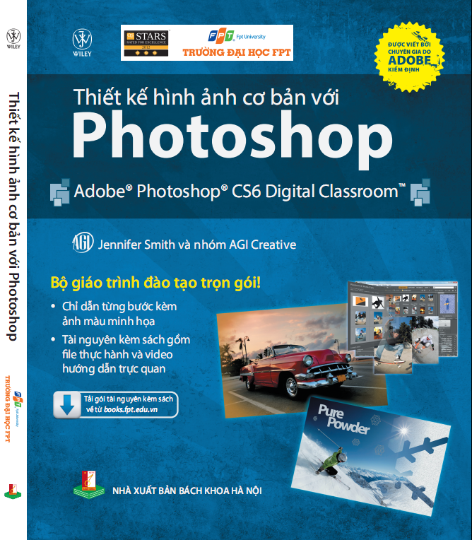 Giới thiệu sách: Thiết kế hình ảnh cơ bản với Photoshop
