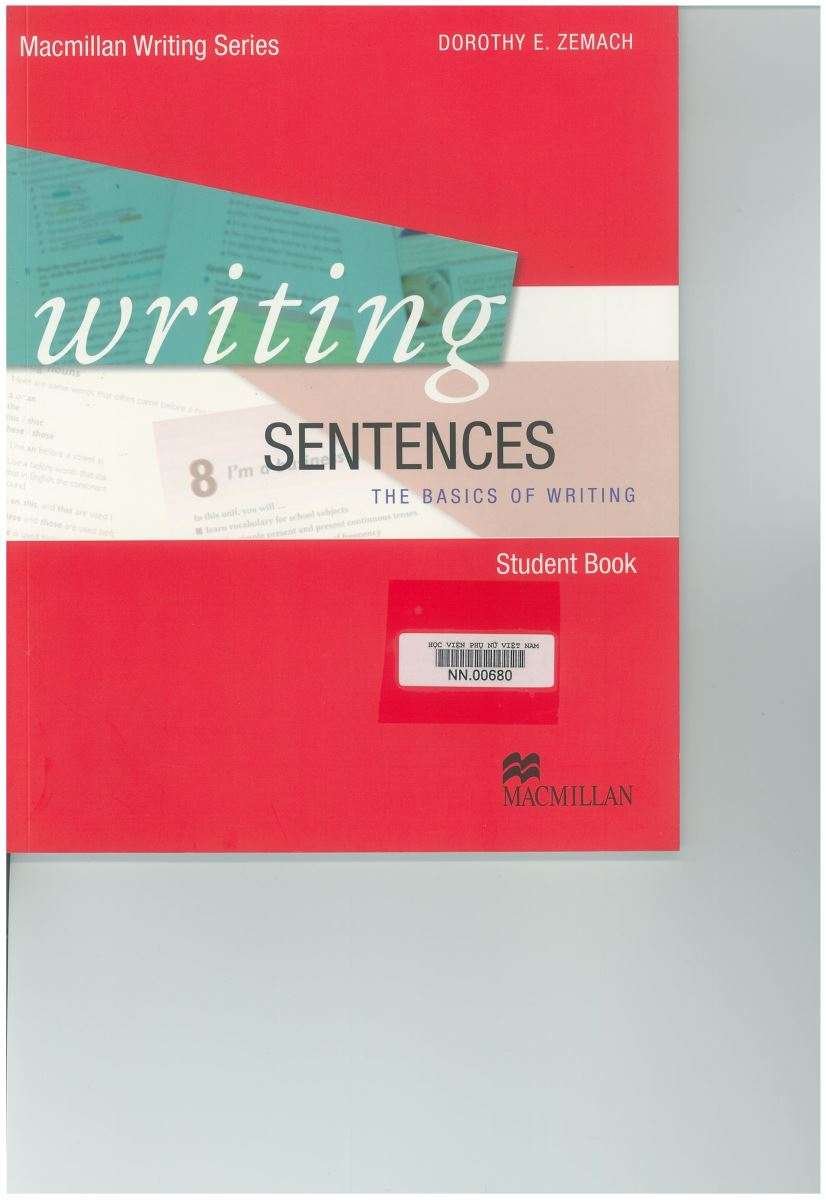 Giới thiệu sách: Writing sentences- The basics of writing