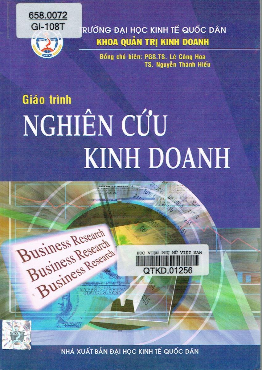 Giới thiệu sách: Nghiên cứu kinh doanh