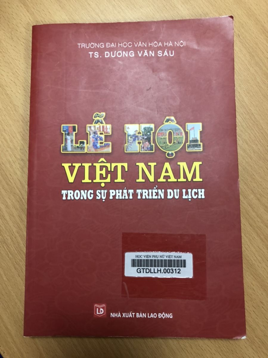 Giới thiệu sách: Giáo trình Lễ hội Việt Nam trong sự phát triển du lịch