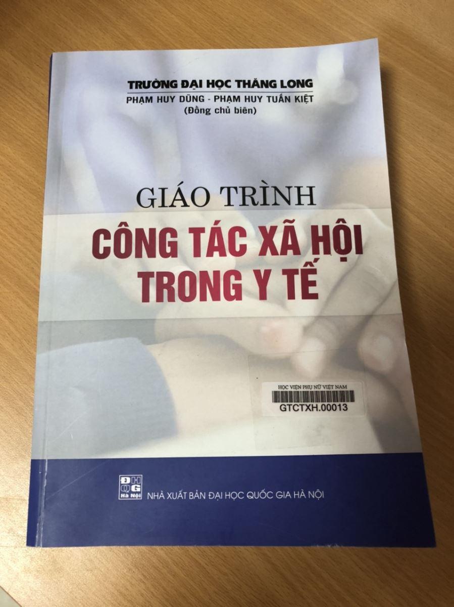 Giới thiệu sách: Giáo trình công tác xã hội trong y tế