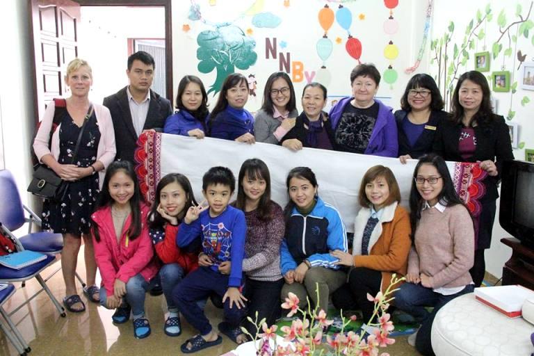 Đoàn đại biểu Liên bang Nga thăm Ngôi nhà bình yên