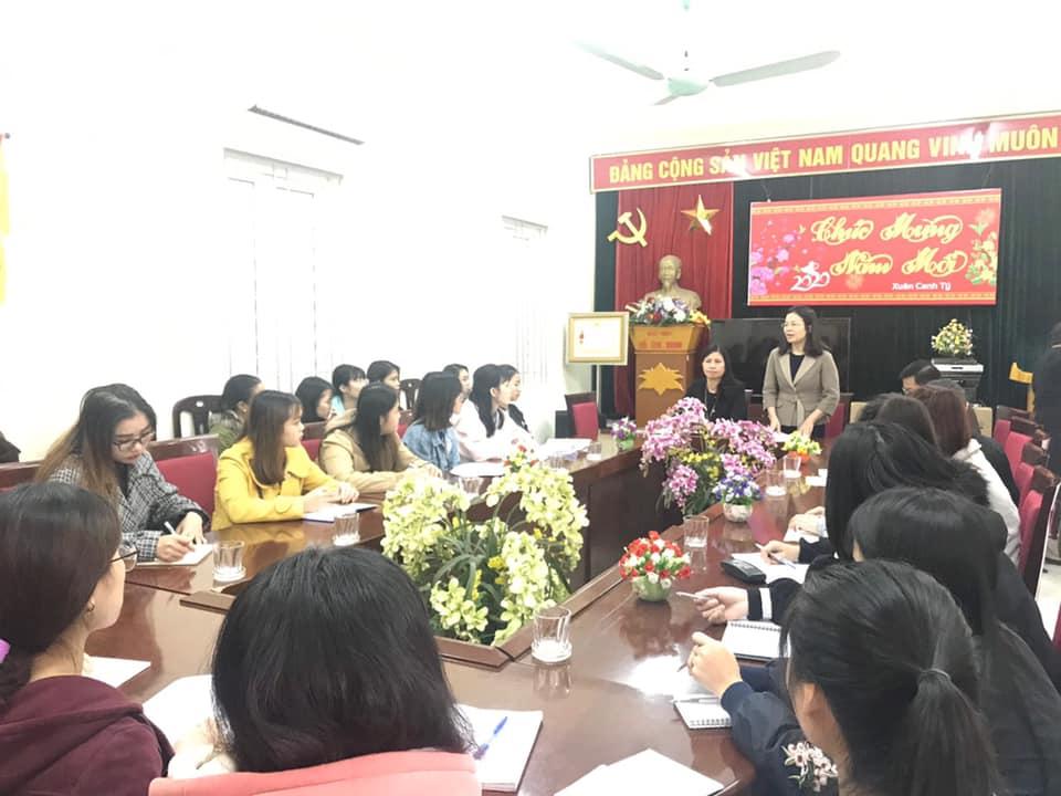 Sinh viên khóa 6 ngành CTXH kiến tập nghề nghiệp