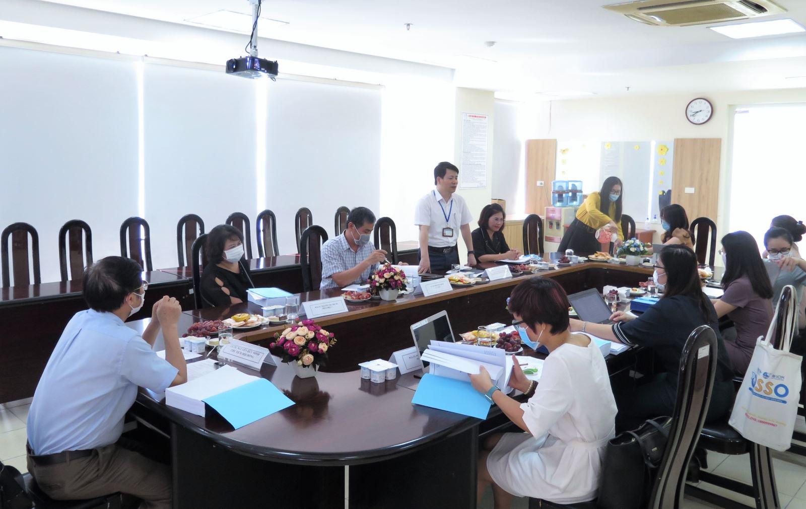 Học viện Phụ nữ Việt Nam tổ chức thẩm định chương trình đào tạo ngành Xã hội học