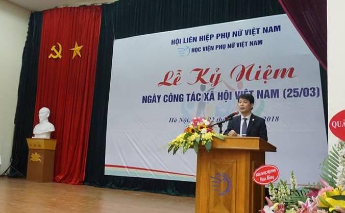 Học viện Phụ nữ Việt Nam kỉ niệm ngày Công tác xã hội Việt Nam lần thứ 2