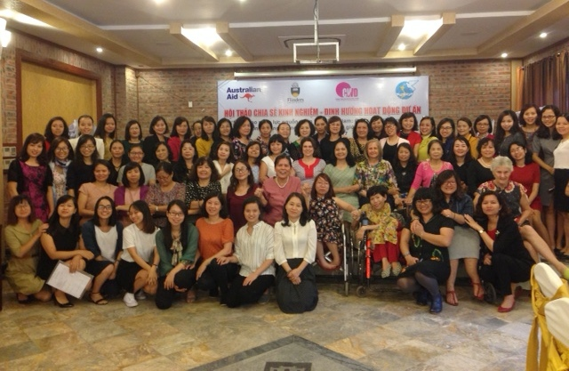 """Hội thảo """"Chia sẻ và định hướng hoạt động tiếp theo của Dự án Nâng cao năng lực nguồn nhân lực tại Việt Nam"""