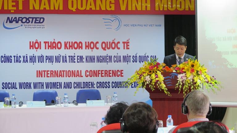 Học viện Phụ nữ Việt Nam tổ chức hội thảo khoa học quốc tế: Công tác xã hội với phụ nữ và trẻ em - Kinh nghiệm của một số quốc gia