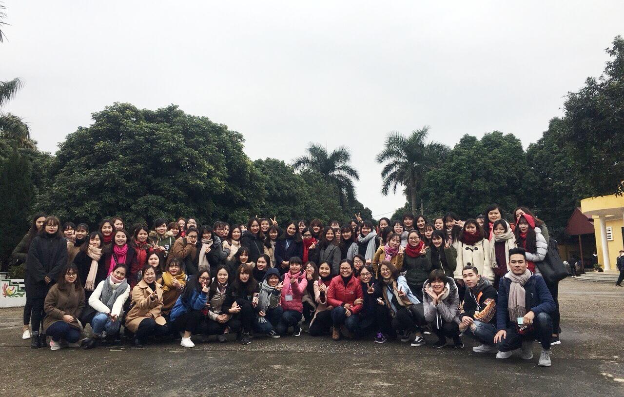 Khoa CTXH tổ chức kiến tập cho sinh viên khóa 4