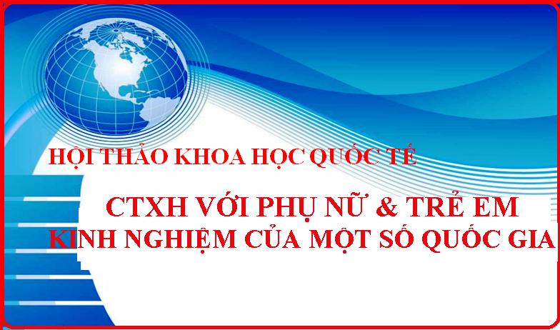 Giới thiệu Hội thảo KH Quốc tế về Công tác xã hội