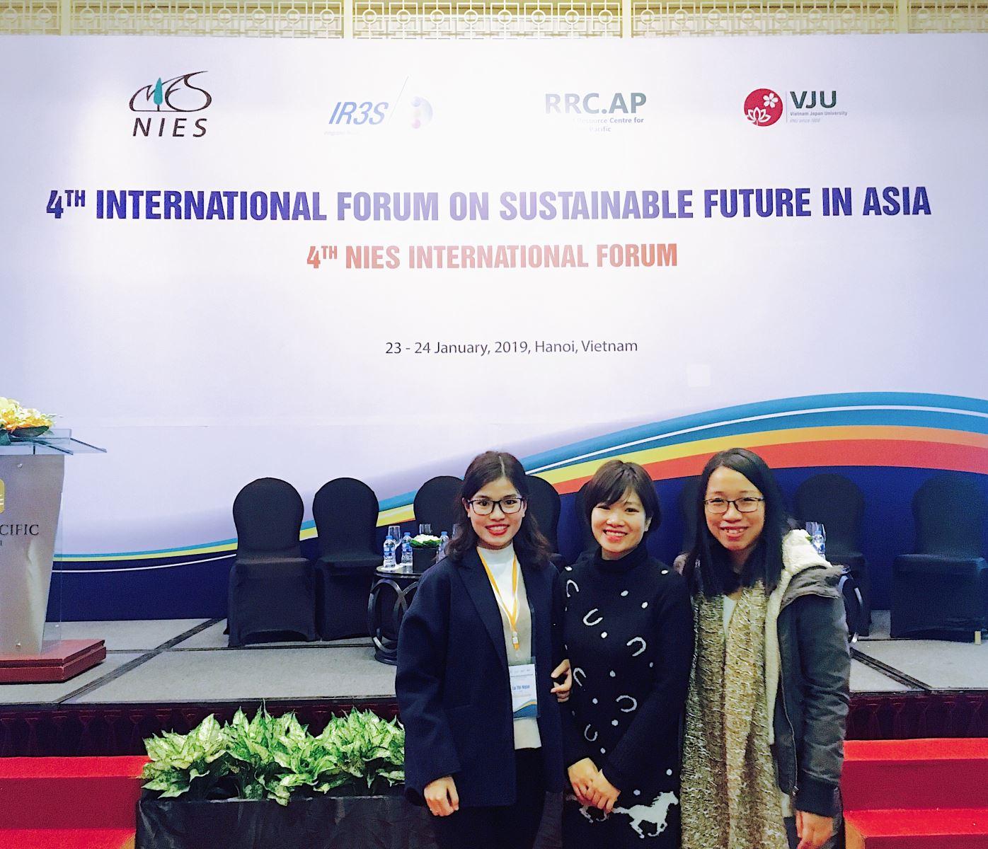 Diễn đàn quốc tế lần thứ 4 về Tương lai bền vững tại châu Á
