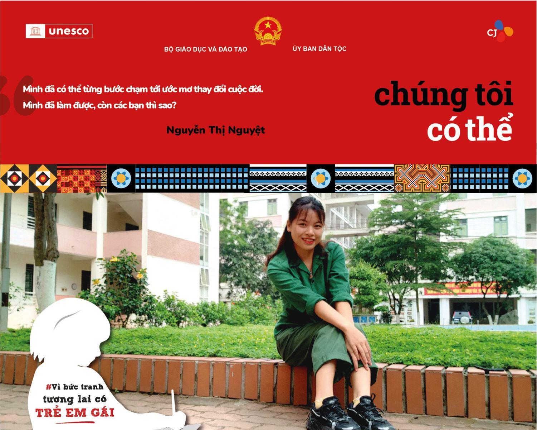 Nguyễn Thị Nguyệt: Xóa tan định kiến, theo đuổi ước mơ!