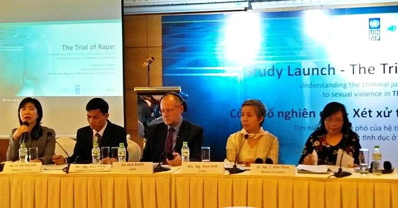 Công bố nghiên cứu xét xử tội hiếp dâm: Hiểu rõ cách ứng phó của hệ thống tư pháp hình sự đối với bạo lực tình dục ở Thái Lan và Việt Nam