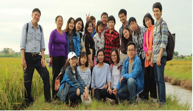 Sinh viên khoa Giới & phát triển tham gia khóa tập huấn kỹ năng về thích ứng với biển đổi khí hậu