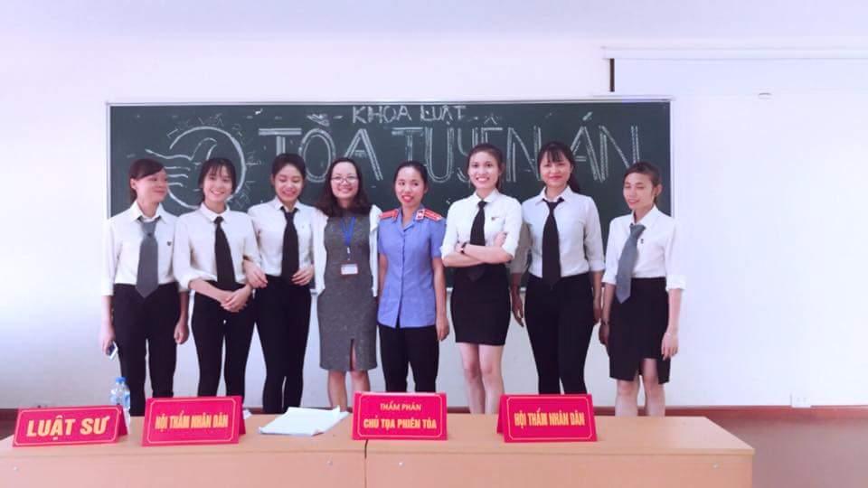 Câu lạc bộ Nghề Luật - nơi rèn luyện kỹ năng nghề cho sinh viên khoa Luật, Học viện Phụ nữ Việt Nam