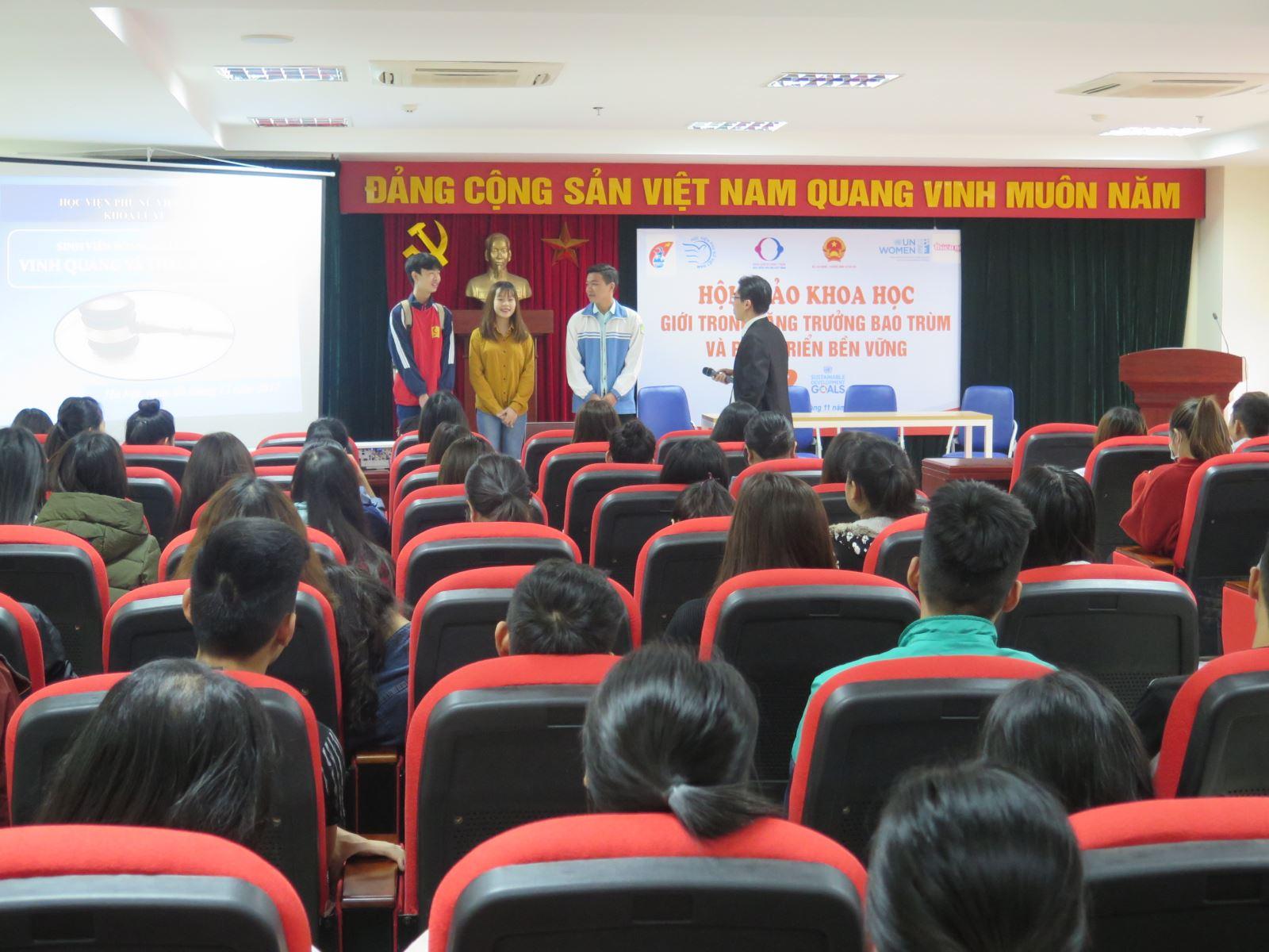 Khoa Luật, Học viện Phụ nữ Việt Nam trong tôi