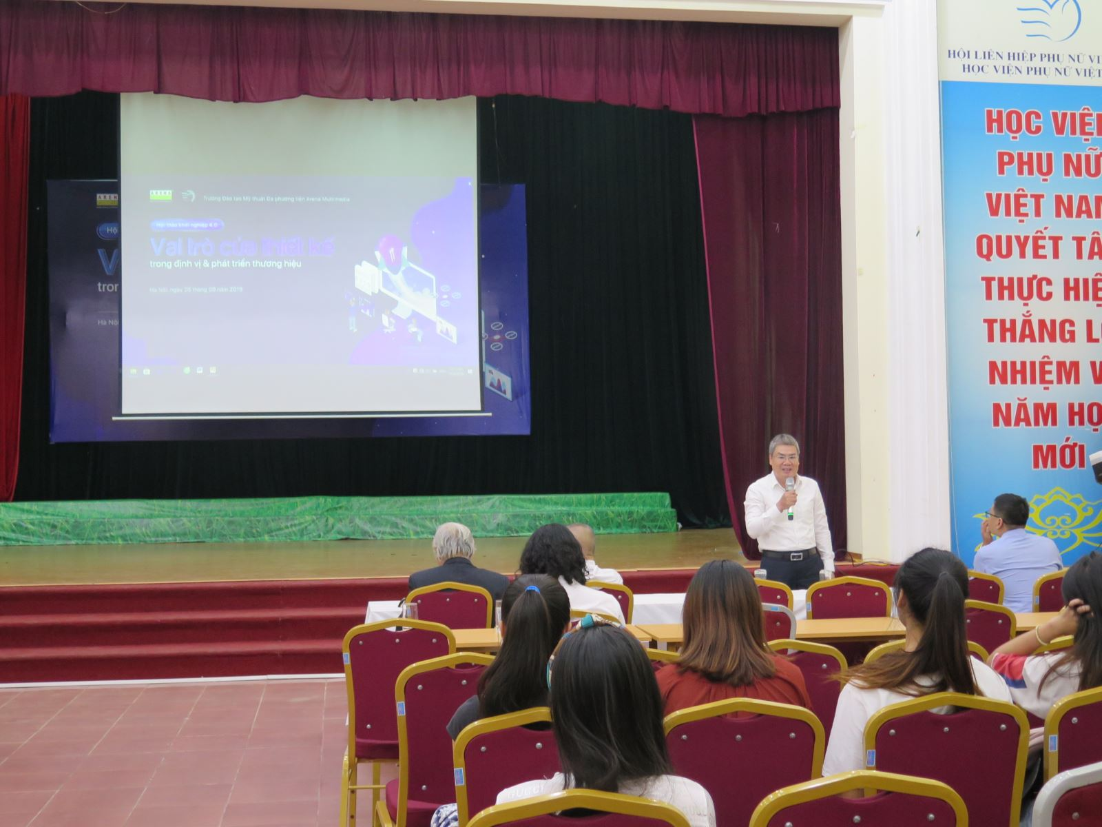 Hội thảo khoa học: Marketing cho Phụ nữ khởi nghiệp trong bối cảnh cách mạng công nghệ 4.0