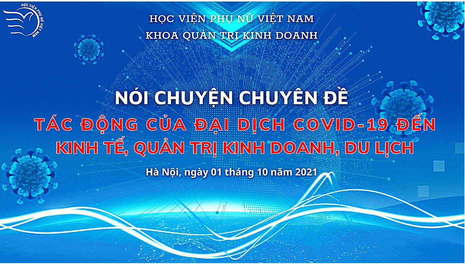 Tác động của đại dịch covid-19 đến Kinh tế, Quản trị kinh doanh, Du lịch