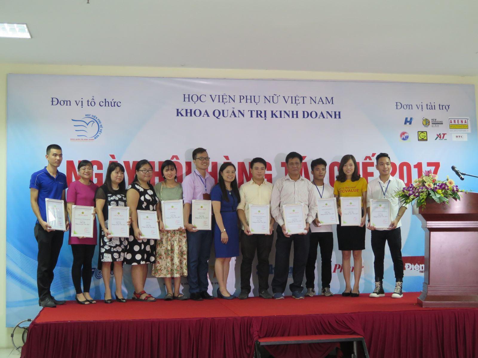 Học viện Phụ nữ Việt Nam tổ chức Ngày hội hàng tái chế 2017