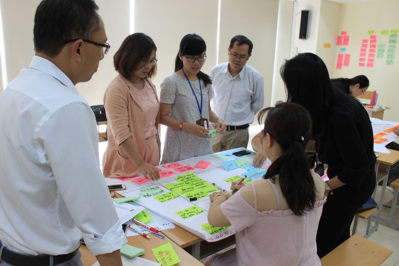 Tập huấn Mô hình kinh doanh WEHUB