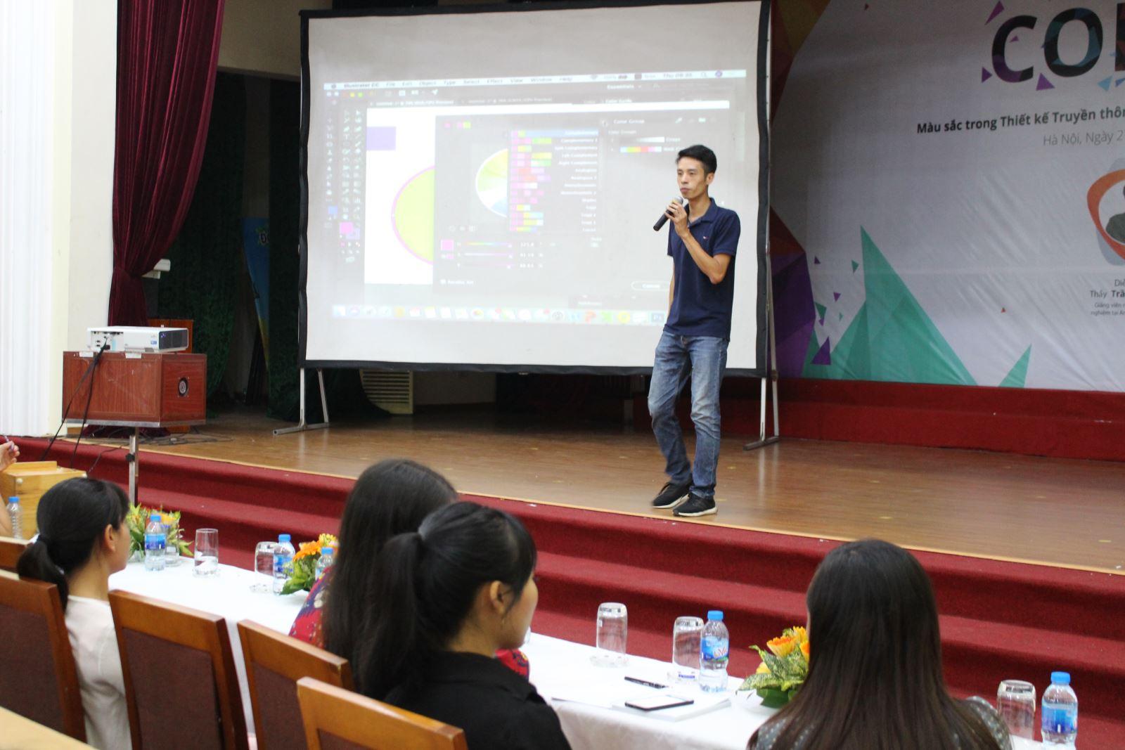 Hội thảo: COLOR Màu sắc trong Thiết kế Truyền thông Đa phương tiện và Marketing du lịch