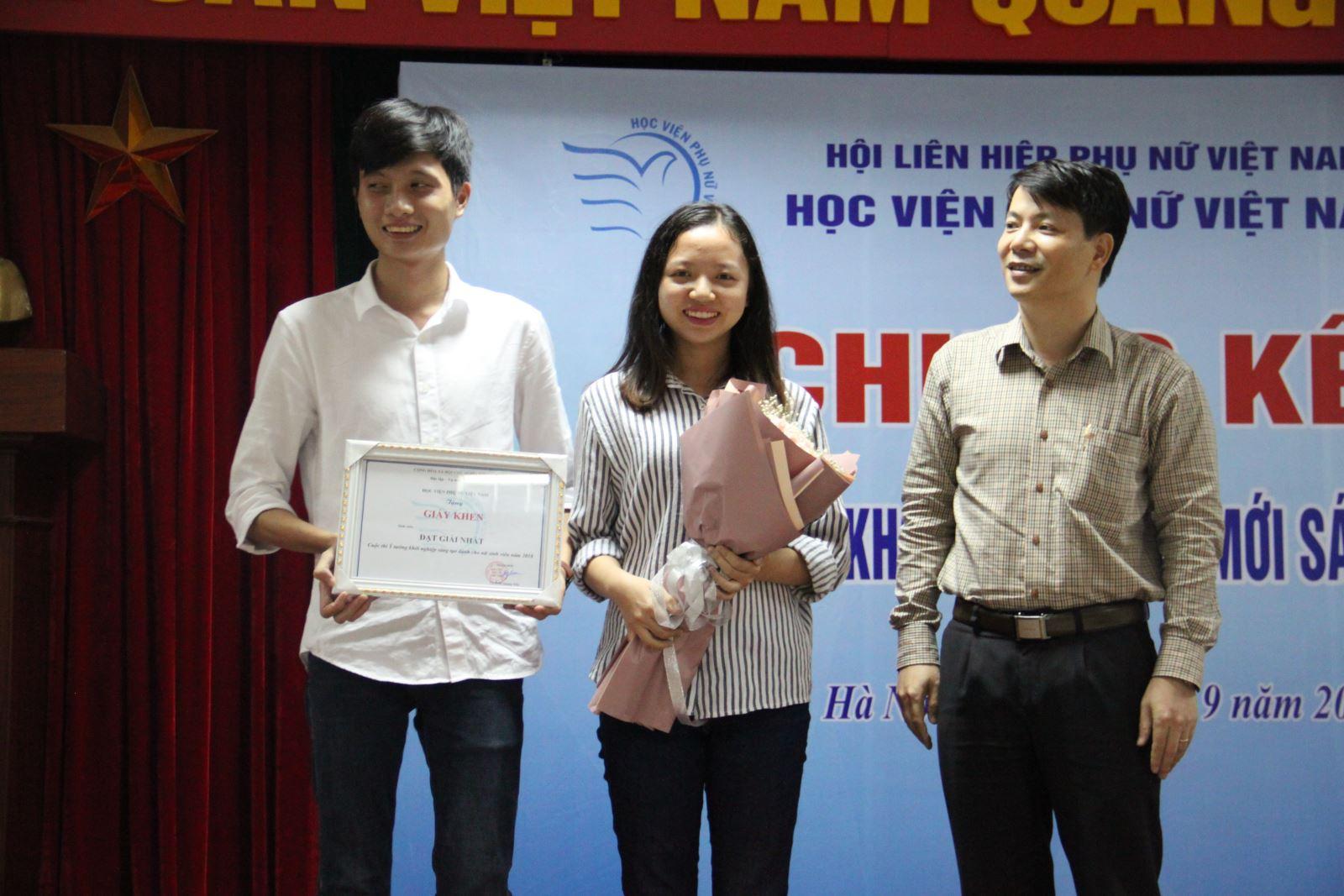 Vòng chung kết cuộc thi Ý tưởng khởi nghiệp sáng tạo dành cho nữ sinh viên 2018